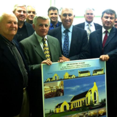 В Софіївській Борщагівці закладено фундамент Дому Молитви на 1200 місць
