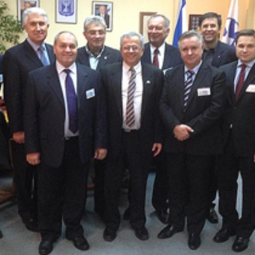 Старший єпископ ЦХВЄУ зустрічався з Послом Ізраїлю