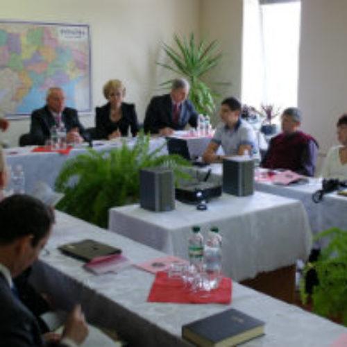 У Чернівцях на базі Духовного центру ЦХВЄУ науковці провели міжнародну конференцію