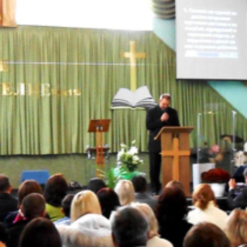Новий дім молитви у Красноармійську посвятили на день народження церкви