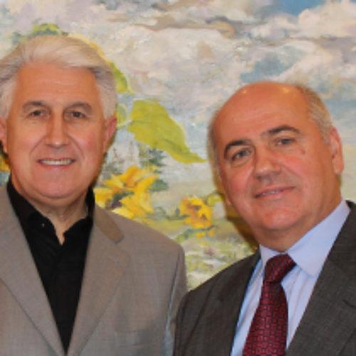 Новий директор Департаменту у справах релігій та національностей Михайло Мошкола відвідав Головний Офіс ЦХВЄУ