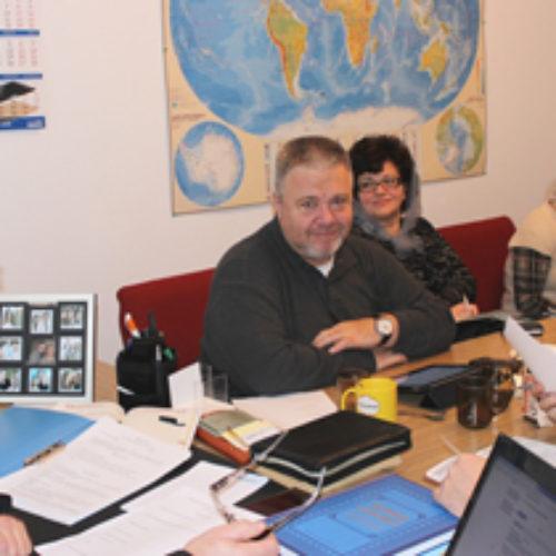 Нарада керівників відділів ЦХВЄУ  підсумувала черговий рік служіння