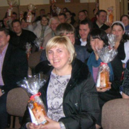 Понад  сорок пасторських сімейних пар Київщини зустрілися, розпочинаючи Рік Сім'ї