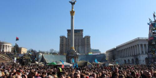 ПРЕСА ПРО НАС Євангельські християни на Майдані: «Покаяння має початися від президента – до злочинця у тюрмі»