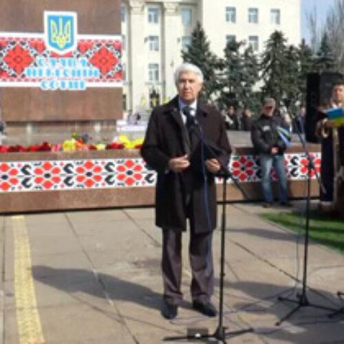 Михайло Паночко на молитовному віче у Херсоні (ВІДЕО)