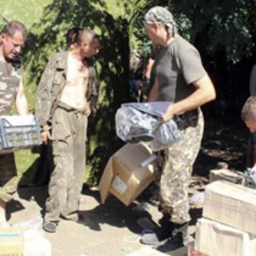 Християни допомагають армії молитвою, продуктами і засобами захисту