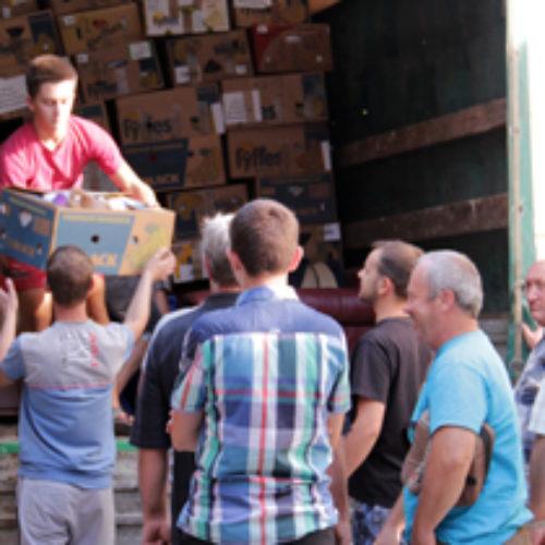 Брати з Мотовилівки доставили допомогу на Донбас