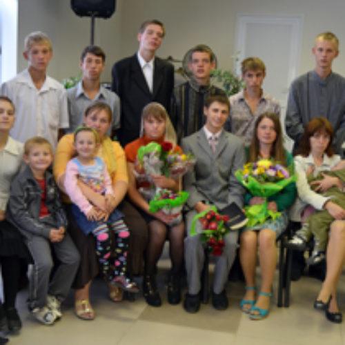 Микола Синюк відвідав Бердянск, де святкували водне хрещення