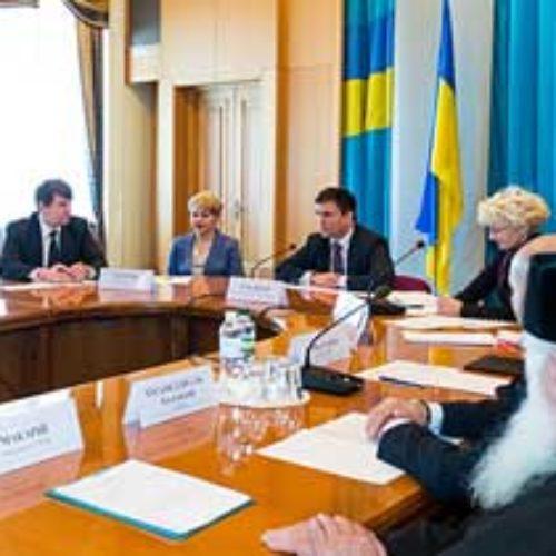 МЗС України налагоджує співпрацю з релігійними організаціями