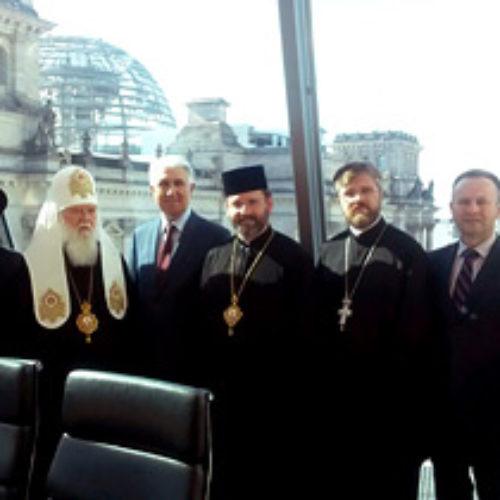 Делегація Всеукраїнської Ради Церков провела низку зустрічей у Берліні