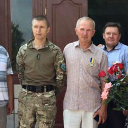 Єпископа Володимира Бричку удостоєно медалі «За патріотизм до України»
