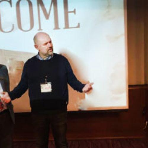 Михайло Паночко привітав главу шведської п'ятидесятницької церкви Пеле Хорнмарка із обранням президентом П'ятидесятницької Європейської Спільноти (PEF)