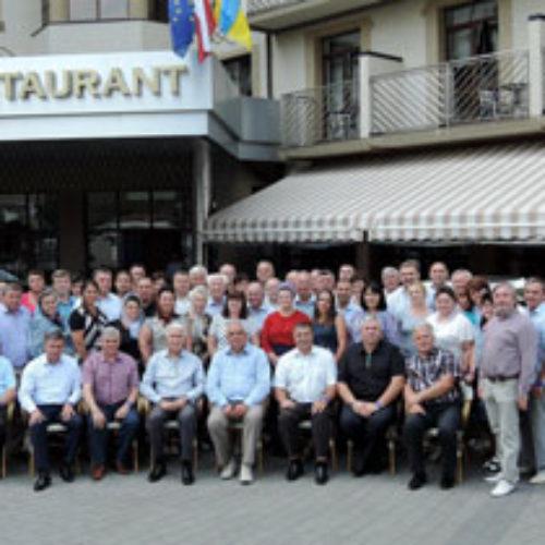 Виїзне засідання комітету ЦХВЄУ присвятили темі відкриття нових церков