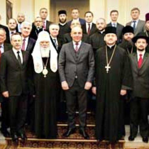 Голова ВРУ Андрій Парубій привітав глав церков із двадцятиріччям ВРЦіРО та вислухав думки і поради священнослужителів
