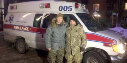 Київські капелани доставили допомогу до Авдіївки