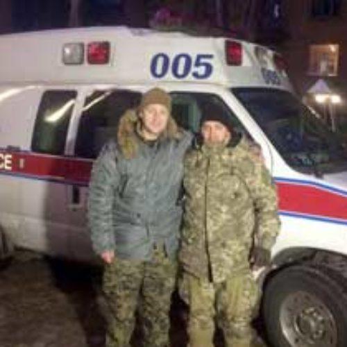 Київські капелани доставили у зону бойових дій «швидку» для військових і підтримку для мешканців Авдіївки