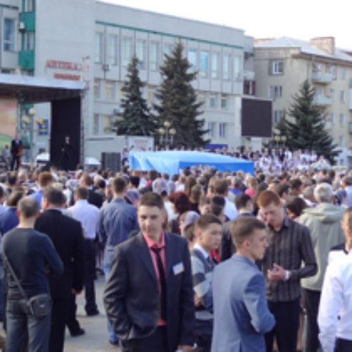 На євангелізацію у Рівному прийшли понад сім тисяч чоловік (ФОТО)