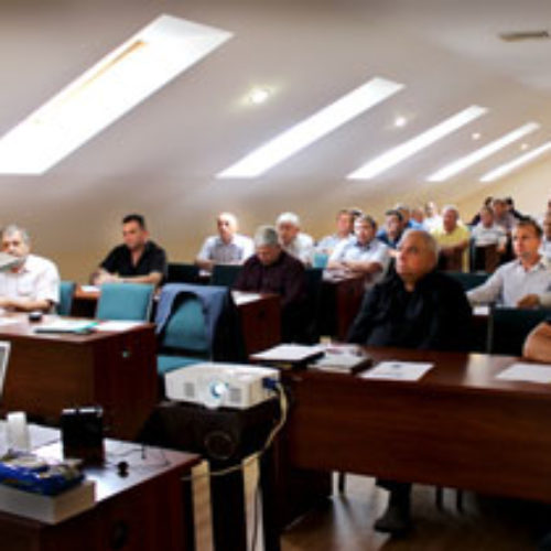 Протягом трьох днів члени Комітету УЦХВЄ апробували нову навчальну програму для місіонерів та провели зустріч з віруючими службовцями і підприємцями