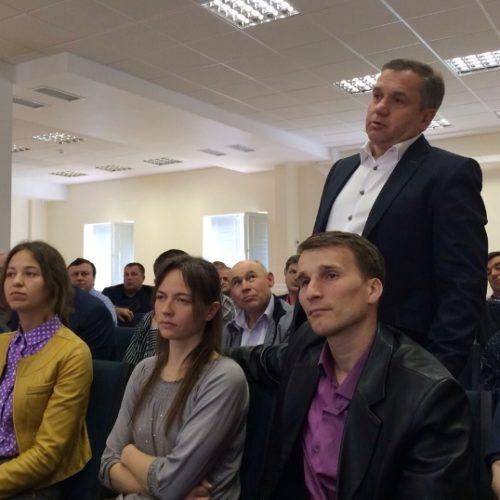 У Києві відбулася зустріч працівників Відділу підприємництва ЦХВЄУ