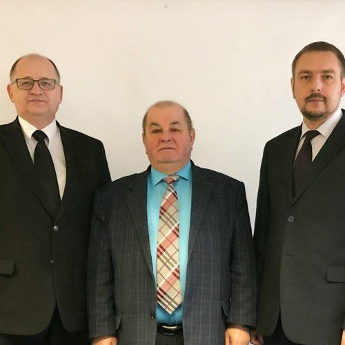 Михайло Паночко привітав новообране керівництво білоруського п'ятидесятницького братерства