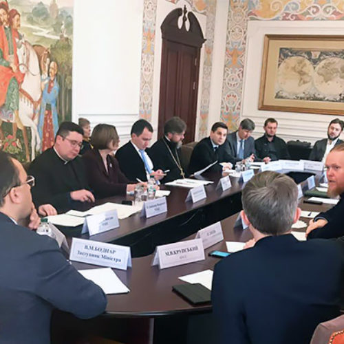 МЗС співпрацюватиме з церквами з відновлення релігійної свободи в окремих районах Донецької та Луганської областей