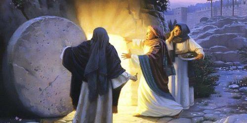 Марія біля гробу