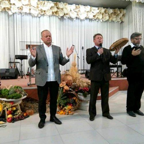 У Вишгороді по-особливому дякувала за урожай, церкву і Україну