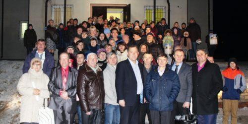 У селі Пришиб на Харківщині посвятили новий Молитовний будинок