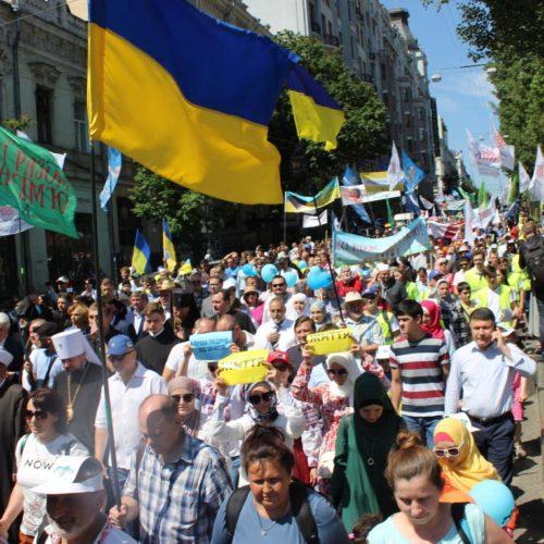Понад 15 000 людей пройшли вулицями Києва урочистою Ходою на захист сімейних цінностей