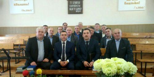Служителі на Рівненщині вчилися ефективній роботі у Христовій команді
