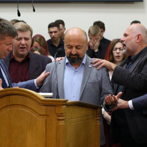 Лідери п'ятидесятницьких церков Європи у Києві здійснили молитву за Європейський континент