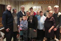 Старший єпископ відвідав Чернігівщину, де цього року святкували річницю обласного об'єднання церков ХВЄ