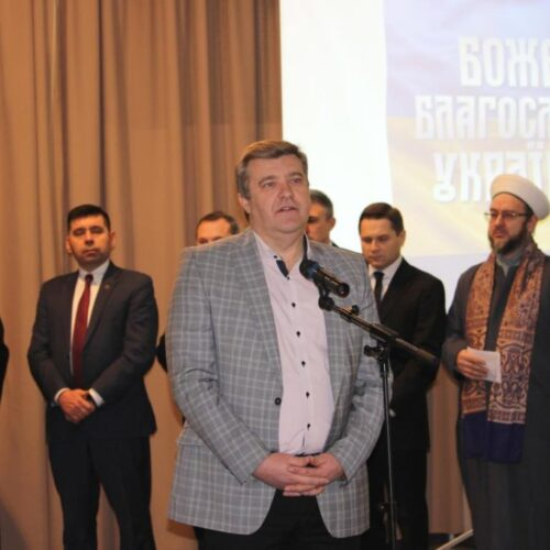 Про мир для України та твердого духа для Президента – молились представники ВРЦіРО у день Нормандського саміту