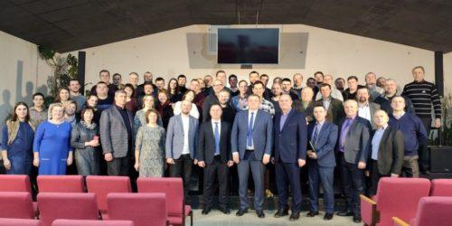 У Коростені відбулася звітна конференція Житомирського обласного об'єднання – кількість вірян в області повільно, але зростає