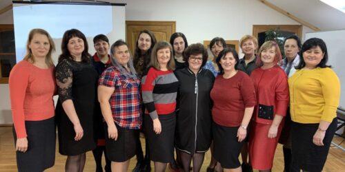 У Києві провели дводенний інтенсив для обласних лідерів жіночого служіння та адміністраторів