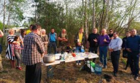 Церкви доставили черговий гумвантаж жителям сіл, що постраждали від лісових пожеж на Житомирщині