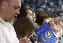 «Молімось, щоб в Україні примножились праведні люди» – Михайло Паночко учасникам Національної молитви