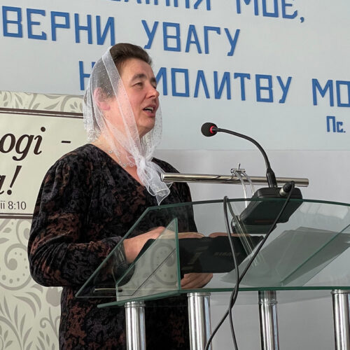 Сестри Підволочиського району на Тернопільщині провели конференцію на тему «Радісна віра»
