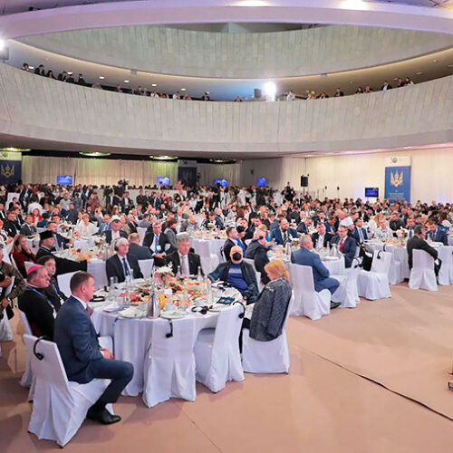 Національний молитовний сніданок зібрав близько тисячі делегатів і став найбільшим у Європі